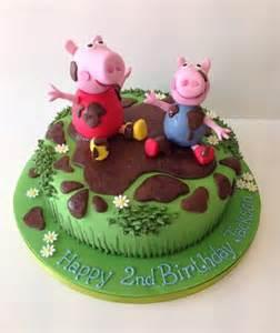 peppa pig birthday cakes peppa pig cakes cakes by robin