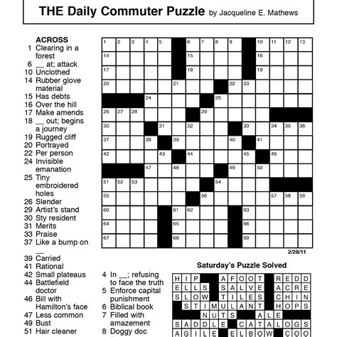 free printable easy crossword puzzles health symptoms health crossword puzzles pictures to pin on pinterest