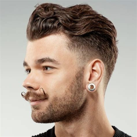 lovehart shaped hairstyles for men with big ears and gray hsir peinados faciles para cabello largo part 7