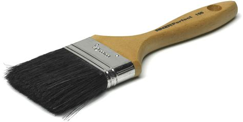 a brush with the flat brush anza