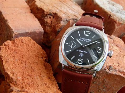 Jam Tangan Panerai Radiomir Brevettato Black Brown jam tangan kuno panerai radiomir blackseal pam 380