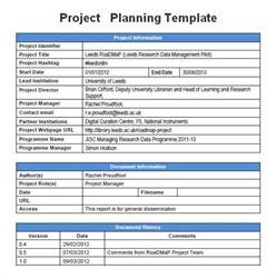 program planning template project planning template cyberuse