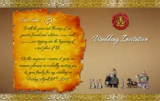 hindu wedding card template indian wedding card design psd files free wedding