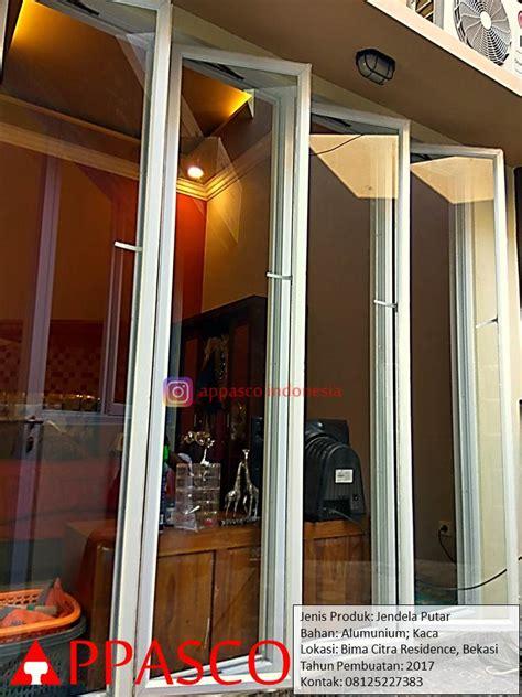 Aluminium Dan Kaca jendela putar aluminium dan kaca di bima citra residence