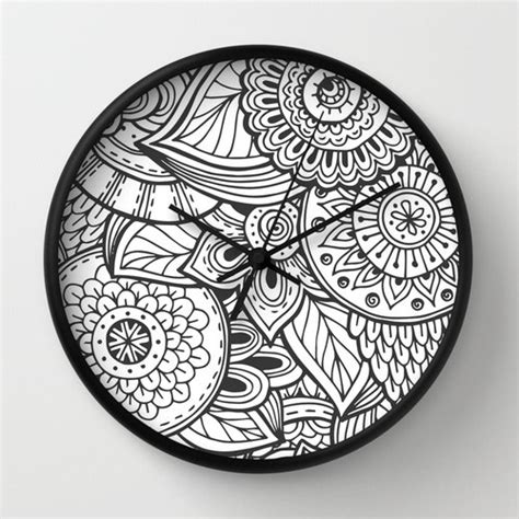 cool house clocks mandala clock cool mandala clock modern clock the