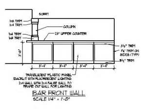 Bar Counter Plan Home Bar Ideas Plans Basement Bar Designs Blueprints