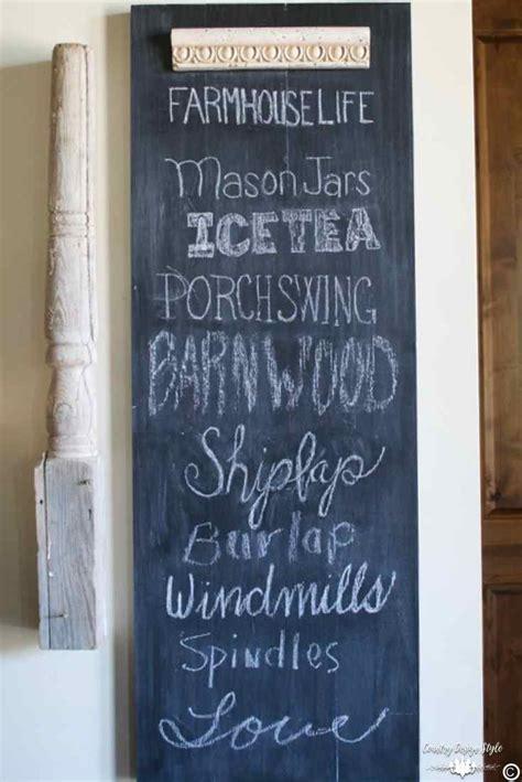 diy chalkboard typography how to make an easy diy chalkboard using scrap wood