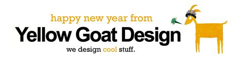 new year for goat 2016 cool stuff yellow goat design
