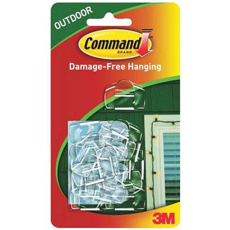 command outdoor light clips clear clips