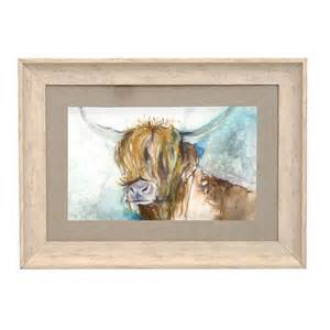 Storage Table With Baskets Voyage Maison Rory Highland Cow Framed Print From