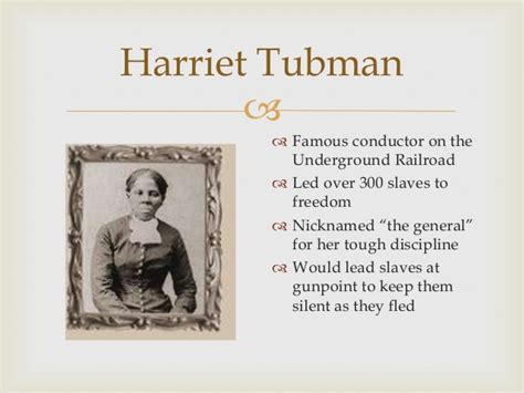 harriet tubman biography powerpoint the civil war topic power point