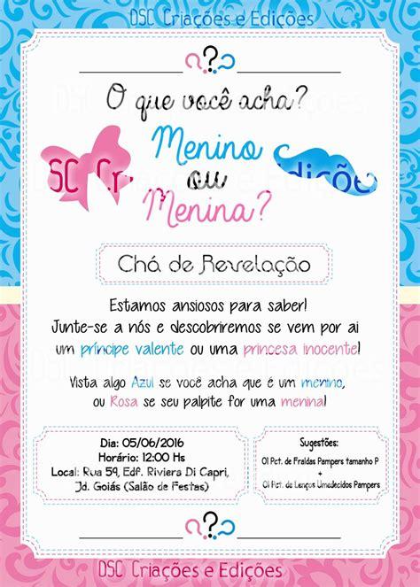 Modelo De Convite Para Festa Photoshop E Arte Convites Convite Ch 225 Revela 231 227 O Foto Bebe Festa Fralda Arte