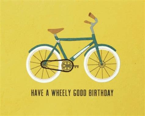 bicycle birthday card template best 25 happy birthday ideas on