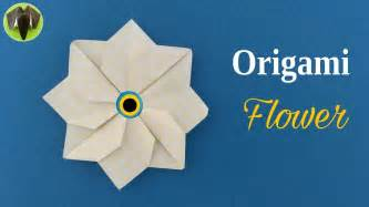 Origami Paper Flower Tutorial - origami flower tutorial by paper folds diy my crafts