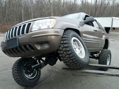 jeep grand cherokee tires jeep grand cherokee long arm upgrade kits 1999 2004 wj