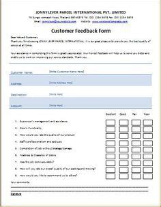 Retail Store Feedback Form Template Glendale Community Document Template Retail Store Feedback Form Template