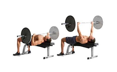 flat bench barbell press how to get bigger pecs at home best exercises to build