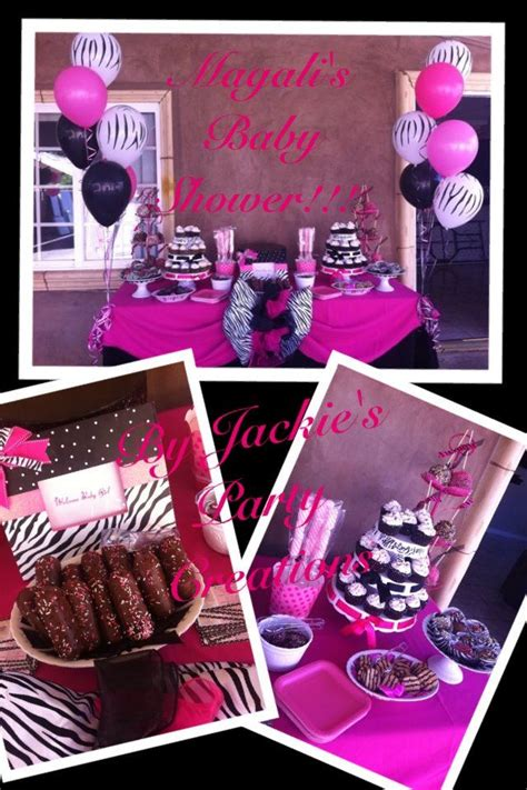 zebra themed bathroom pink zebra shower ideas jackie s party creations pink