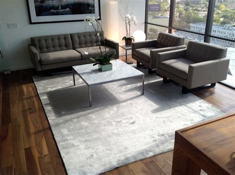 Modern Living Room Rug Happy Customers Contemporary Living Room Los Angeles By Modern Rugs La