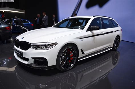 Bmw G31 Tieferlegen by 2017 Geneva Bmw 5 Series Touring Debuts With M