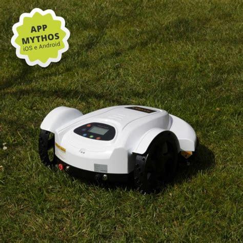 robot per giardino robot tagliaerba mythos per grandi e piccoli giardini