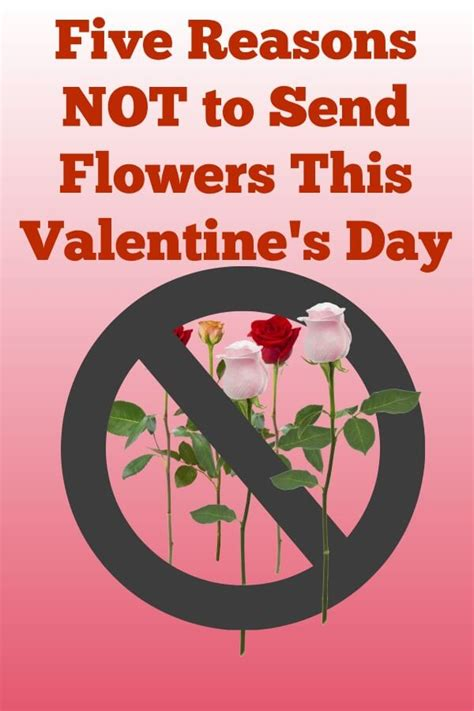 Reasons To Send Flowers by 5 Reasons Why Not To Send Flowers This S Day