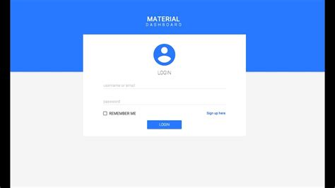design login form in wpf google style material login c vb net bunifu ui 1 51