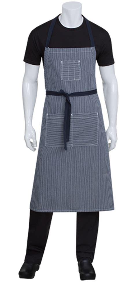ibl rating portland indigo blue denim adjustable bib apron