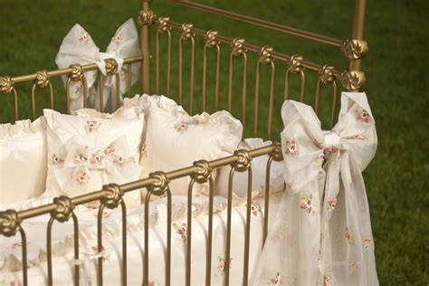 Umbria Set lulla smith baby bedding umbria linen set dupioni silk