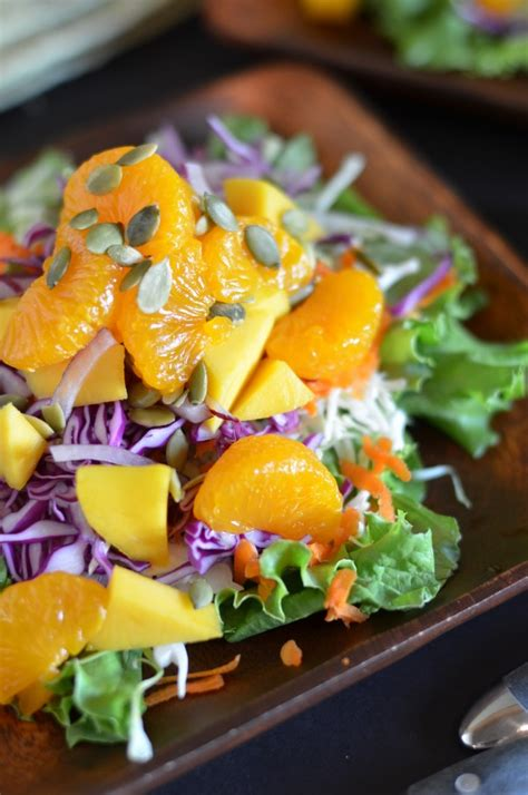 Detox Whole Foods Salad by Whole Foods Tangerine Detox Salad With Free Dressing