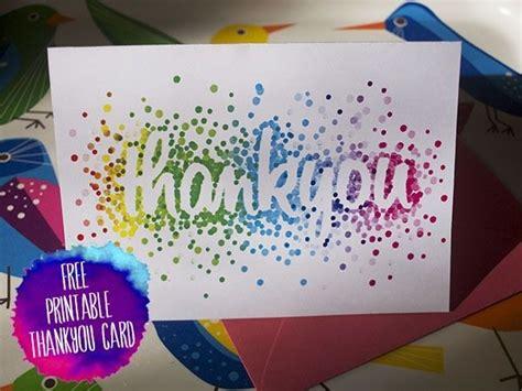easy thank you card template kindergarten diy thank you card ideas rudycoby net