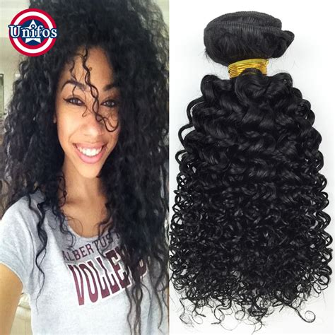 jerri curl hair sew in weave brazilian hair weave bundles curly 2 pcs jet black jerry