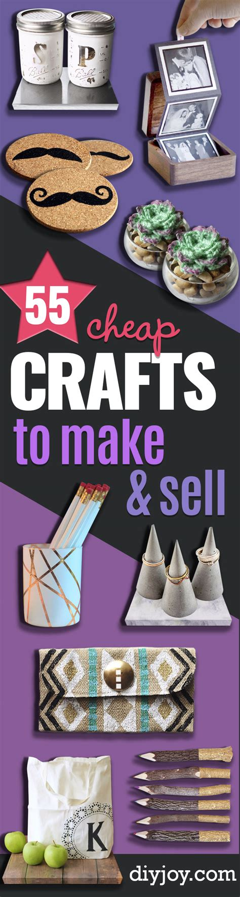 craft projects to sell 55 cheap crafts to make and sell diy