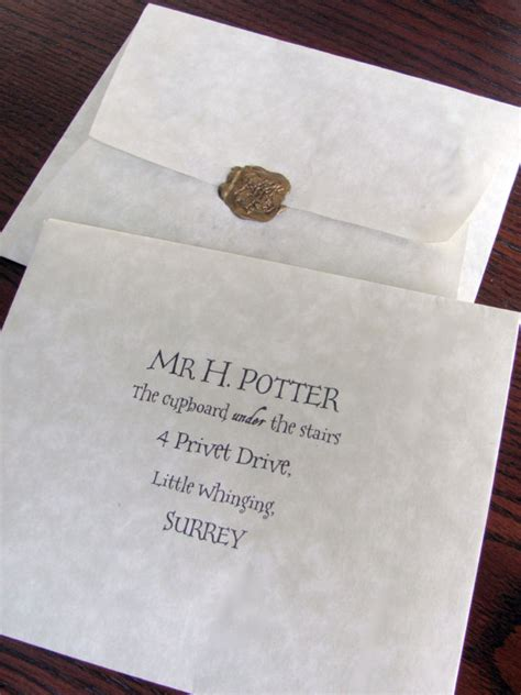 Personalized College Acceptance Letter Custom Hogwarts School Of Witchcraft And Wizardry Acceptance