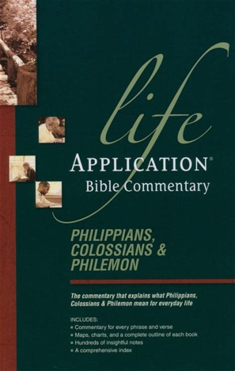 colossians 33 verse by verse bible commentary life application bible commentary philippians colossians