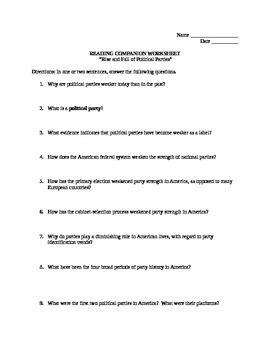 australia worksheet resultinfos political party worksheet resultinfos