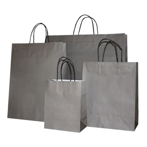 Paper Bags For - warm grey paper carrier bag vibrant paper bags barry