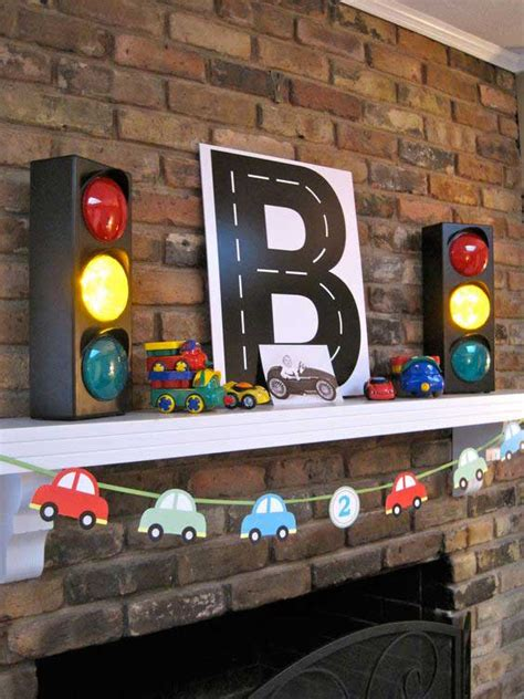car themed home decor diy projects for kids inspired by race car tracks