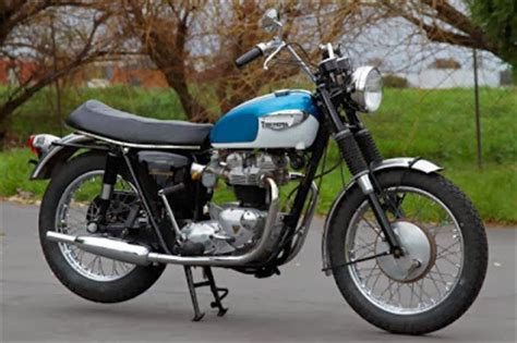 triumph bonneville 1966 classic and vintage motorcycles