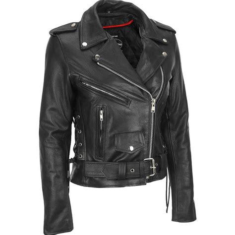 classic motorcycle jacket the best womens motorcycle black leather jackets with