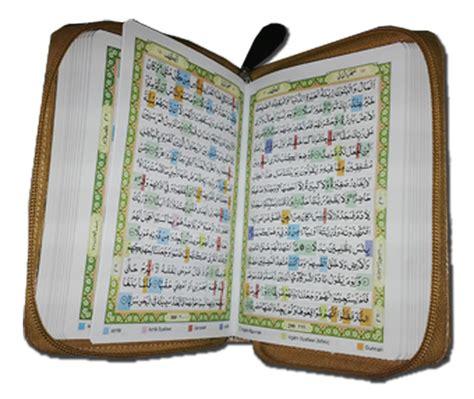 Murah Al Quran Tajwid Saku An Naim 1 al quranku mushaf blok warna a6 resleting jual quran murah