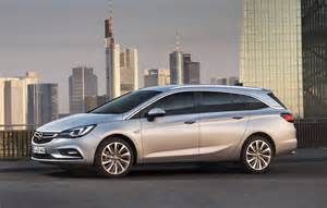Opel Stra 2016 Opel Astra K Sports Tourer Gm Authority