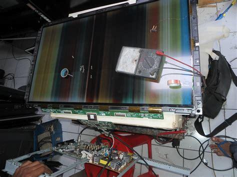 Jual Layar Panel Lcd Samsung S8 Original Bekas lcd samsung la32r81b gambar garis2 banyak seperti batik servis lcd tv