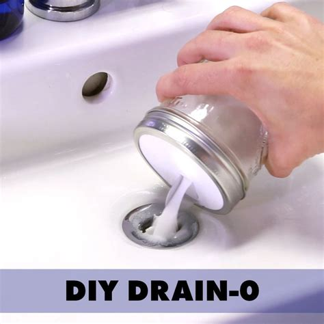 clogged sink fix    time   diy drain  cleaning hacks diy cleaning products