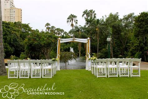 Garden Decoration Brisbane by Brisbane Garden Wedding Locations Beautiful Weddings