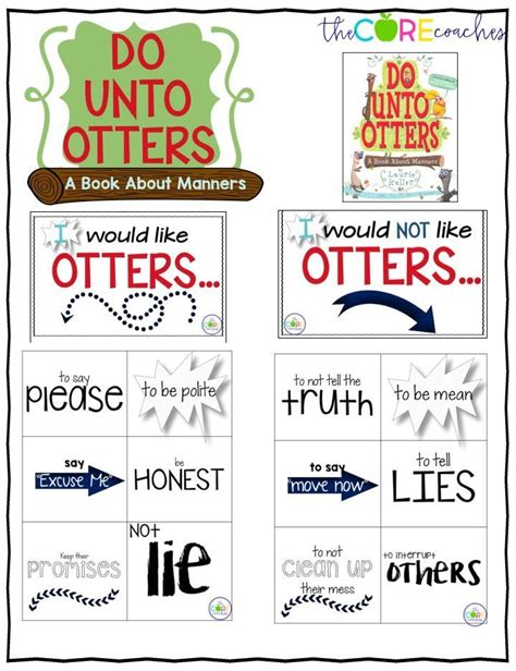 Do Unto Otters Interactive Read Aloud Lesson Plans And