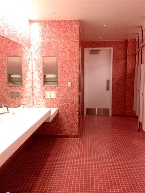 pink floor tiles for bathrooms 35 pink bathroom floor tiles ideas and pictures
