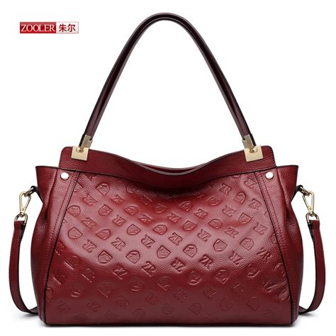 2016 New Genuine Leather Handmade - zooler brand fashion leather handbags 2016 new