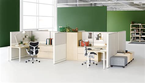 Open Plan Office Desks Herman Miller Office Furniture Solutions For An Open Plan Office