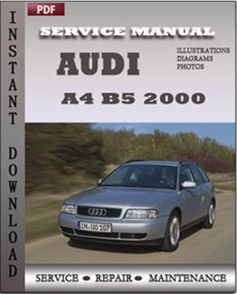 car repair manuals online pdf 2000 audi a4 navigation system audi a4 b5 2000 service repair servicerepairmanualdownload com